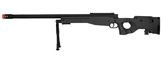 M1196B BOLT ACTION AIRSOFT SNIPER RIFLE W/ FOLDING STOCK (BLACK)