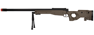 M1196T BOLT ACTION AIRSOFT SNIPER RIFLE W/ FOLDING STOCK (TAN)