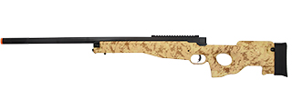 M96C L96 SPRING BOLT ACTION AIRSOFT RIFLE (DESERT DIGITAL)