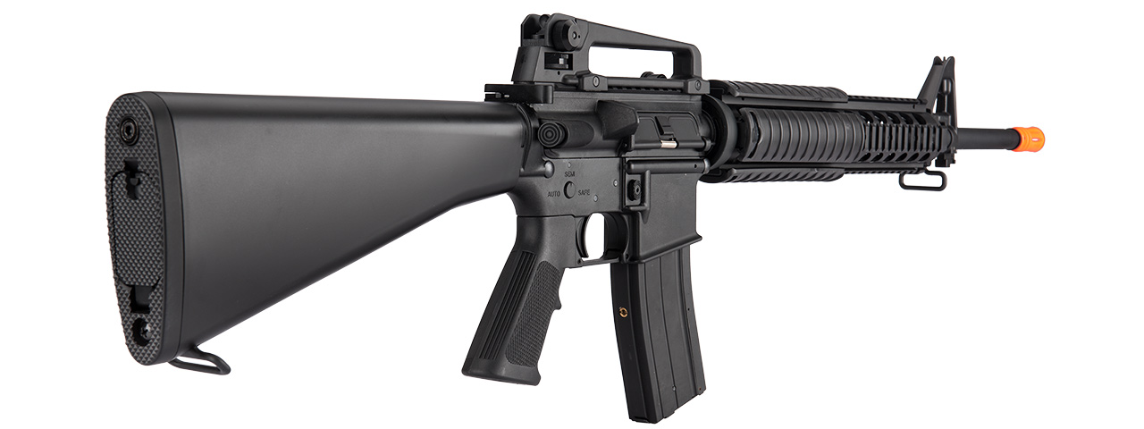 MC6620 M16 RIS LIGHTWEIGHT POLYMER GBB AIRSOFT RIFLE (BLACK)