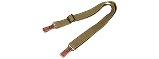 NCS-AAKS 2-POINT RIFLE SLING FOR AK SERIES RIFLES (GREEN)