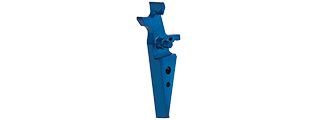 RTA-6801 ANODIZED ALUMINUM TRIGGER FOR AR15 SERIES (BLUE) - TYPE A