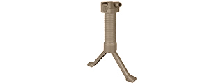 SG-02-T QUICK DEPLOY TACTICAL BIPOD FOREGRIP (TAN)