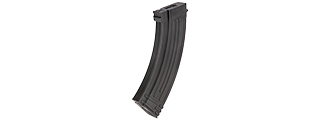 140RD MID CAPACITY POLYMER AIRSOFT MAGAZINE FOR AK AEGS (BLACK)