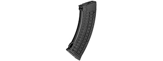 SG-18-B 500RD WAFFLE PATTERN HIGH CAPACITY MAGAZINE FOR AK AEG (BLACK)
