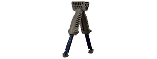 SG-25-G RAPID DEPLOY TACTICAL BIPOD FOREGRIP (OD)