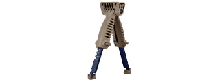SG-25-T RAPID DEPLOY TACTICAL BIPOD FOREGRIP (TAN)