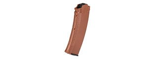 SG-37-OG 480RD AK74 HIGH CAPACITY MAGAZINE FOR MARUI EBB RIFLE (FAUX WOOD)