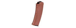 SG-37B-OG 70RD AK74 LOW CAPACITY MAGAZINE FOR MARUI EBB RIFLE (FAUX WOOD)