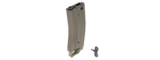 SG-618-1G 330RD HIGH CAPACITY AIRSOFT MAGAZINE FOR M4 AEGS W/ PULL TAB (OD)