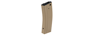 SG-618C-T 380RD M4 / M16 FLASH AIRSOFT AEG MAGAZINE (TAN)