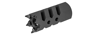 SG-BW60 14MM CCW AIRSOFT GREAT WHITE MUZZLE BRAKE