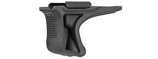 SG-GR5-B LOW PROFILE ANGLED GRIP W/ 20MM RAIL MOUNT (BLACK)