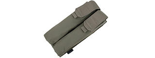 T0831 DUAL P90 TACTICAL AIRSOFT MAGAZINE POUCH (OLIVE DRAB GREEN)