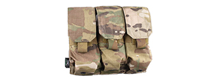 AMA AIRSOFT TACTICAL TRIPLE MAGAZINE POUCH - CAMO