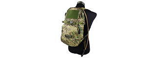 T2089-GZ TACTICAL MULTI-USE HYDRATION BACKPACK (GREEN ZONE)