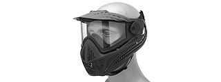 G-Force F2 Single Layer Full Face Mask (BLACK)