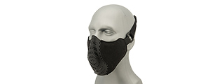 G-Force Ventilated Discreet Half Face Mask (BLACK)