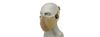 G-Force Ventilated Discreet Half Face Mask (TAN)