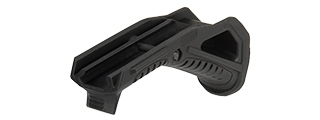G-Force Picatinny Grooved Angled Foregrip (BLACK)
