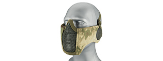 WOSPORT TACTICAL ELITE MASK W/ EAR PROTECTION (AT-FG)