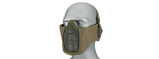 WOSPORT TACTICAL ELITE MASK EAR PROTECTION UPGRADE VERSION (OD GREEN)