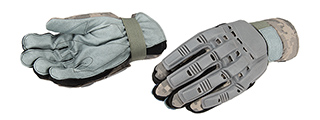 AC-814XL PAINTBALL GLOVES FULL FINGER (COLOR: ACU) SIZE: X-LARGE