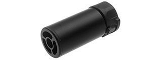 ATLAS CUSTOM WORKS FULL METAL SOCOM QD BARREL EXTENSION W/ FLASH HIDER [MINI] (BLACK)