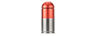 ATLAS CUSTOM WORKS AIRSOFT GRENADE SHELL (RED / SILVER)