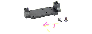 ATLAS CUSTOM WORKS RMR FIBER SIGHT BASE MOUNT (BLACK)