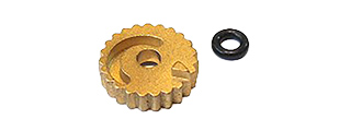 AIRSOFT MASTERPIECE BRASS HOP-UP ADJUSTING WHEEL FOR TOKYO MARUI 4.3/5.1 (BRASS)