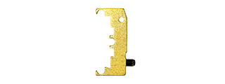 AIRSOFT MASTERPIECE ALUMINUM PUZZLE BASE TRIGGER (GOLD)