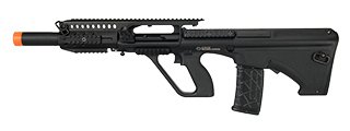 ASG STEYR AUG A3 QUAD RIS BULLPUP AIRSOFT AEG RIFLE (BLACK)