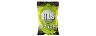 BLS PERFECT BB 0.20G (BIODEGRADABLE) AIRSOFT BBS [4000RD] (WHITE)