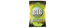 BLS PERFECT BB 0.25G (BIODEGRADABLE) AIRSOFT BBS [4000RD] (WHITE)