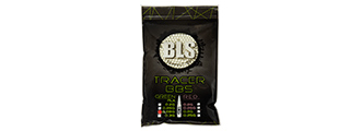 BLS PERFECT BB 0.28G DARK KNIGHT 1KG BIO TRACER BBS [3500 RD] (GREEN)