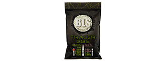 BLS PERFECT BB 0.20G DARK KNIGHT 1KG BIO TRACER BBS [5000 RD] (GREEN)