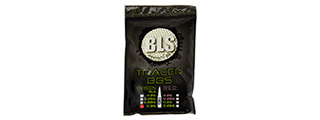 BLS PERFECT BB 0.30G DARK KNIGHT 1KG BIO TRACER BBS [3300 RD] (GREEN)