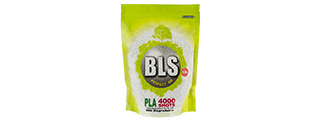 BLS PERFECT BB 0.28G (BIODEGRADABLE) AIRSOFT BBS [4000RD] (WHITE)