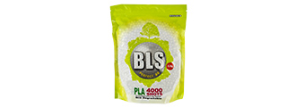 BLS PERFECT BB 0.30G (BIODEGRADABLE) AIRSOFT BBS [4000RD] (WHITE)