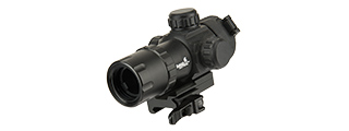 LANCER TACTICAL QD RED DOT ADJUSTABLE DOT SIGHT (BLACK)