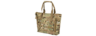 LANCER TACTICAL 1000D NYLON TACTICAL TOTE BAG (CAMO)