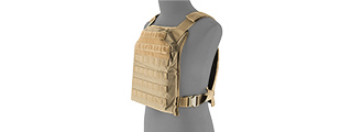 LANCER TACTICAL 1000D PRIMARY PLATE CARRIER (PPC) (TAN)