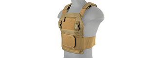 LANCER TACTICAL SPEEDSTER ADAPTIVE PLATE CARRIER (TAN)