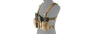 LANCER TACTICAL ADAPTIVE SNIPER CHEST RIG (TAN)