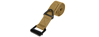 Lancer Tactical CA-337LT Riggers Belt in Tan - Size L