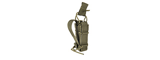 LANCER TACTICAL SINGLE PISTOL BUNGEE MAGAZINE POUCH (OD GREEN)