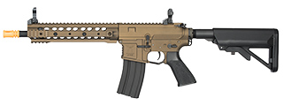 "CLASSIC ARMY ARS3 10"" RAIL M4 AIRSOFT CARBINE AEG (DARK BRONZE)"