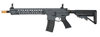 CLASSIC ARMY ARS2-12 SR25 AIRSOFT CARBINE AEG RIFLE (GRAY)