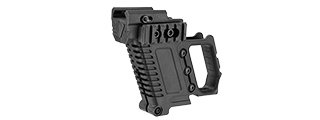 LANCER TACTICAL PISTOL CARBINE KIT FOR G-SERIES TYPE GBB PISTOLS (BLACK)